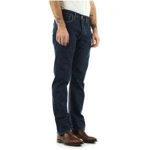 Levi's 501 32x32 Original Fit Jeans Dark Wash